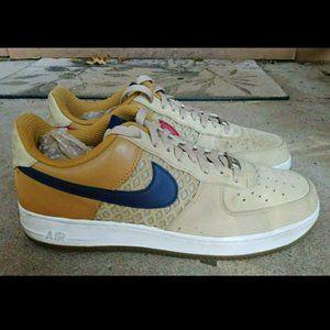 Nike Air Force 1 Low Premium tweed navy red Men 11